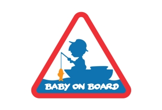 Nálepka BABY ON BOARD-