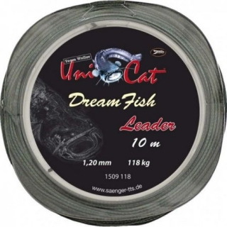 Pletenka UNICAT Dream Fish Leader 10m/1,20mm/128kg
