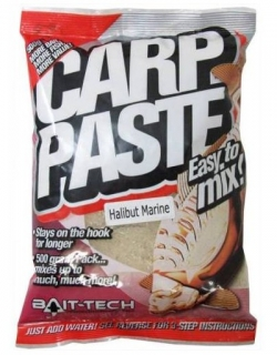 Bait-Tech Kaprové těsto Carp Paste Halibut 500g