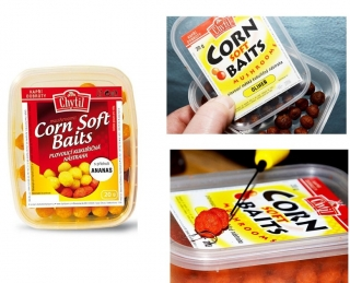Chytil Corn Soft Baits - mushrooms 20 g