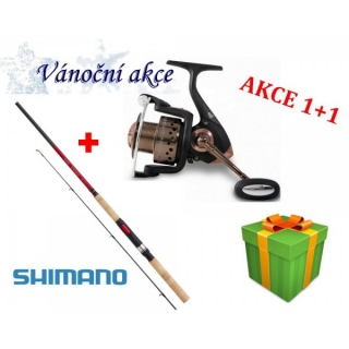 Prut SHIMANO Catana DX Spinning 2,7m/10-30g + Naviják Rapid Executive 20FD