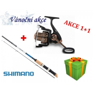 Shimano Alivio DX Spinning 240 MH + Naviják Rapid Executive 20 FD