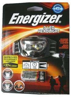 Energizer 3 LED Headlight + baterie