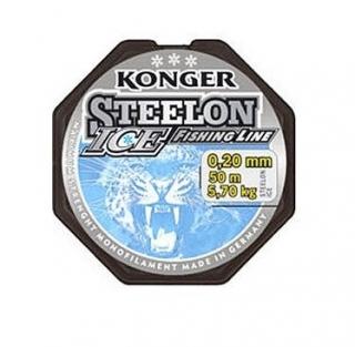 Konger - Vlasec Steelon Ice 50m 0.14 - 0.20mm