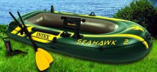 Člun Seahawk 2 Intex + set/pumpa,vesla
