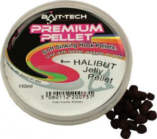 Bait-Tech Pelety v krabičce Premium Jelly 6mm, 125ml