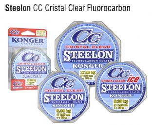 Vlasec Steelon Konger CC Cristal Clear fluorocarbon coated 150m