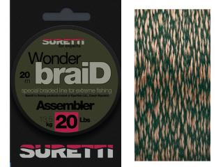 Sema/Suretti WonderbraiD Leader 25lbs/20m